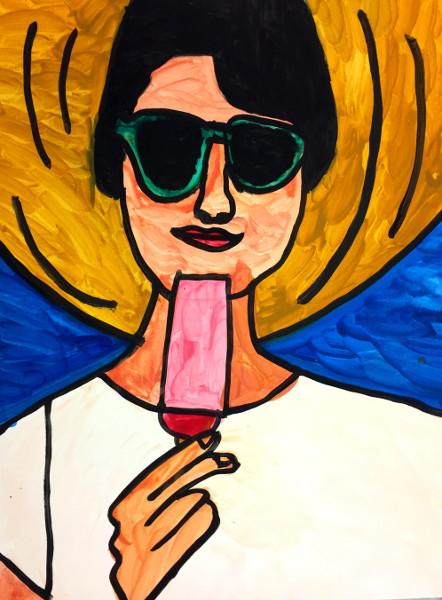 Popsicle Girl