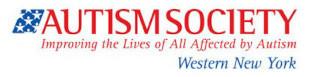 Workshop Sponsor: Autism Society Western New York